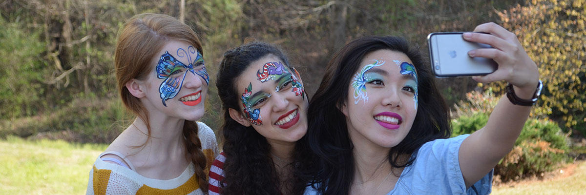 Artistic Face Painting Image