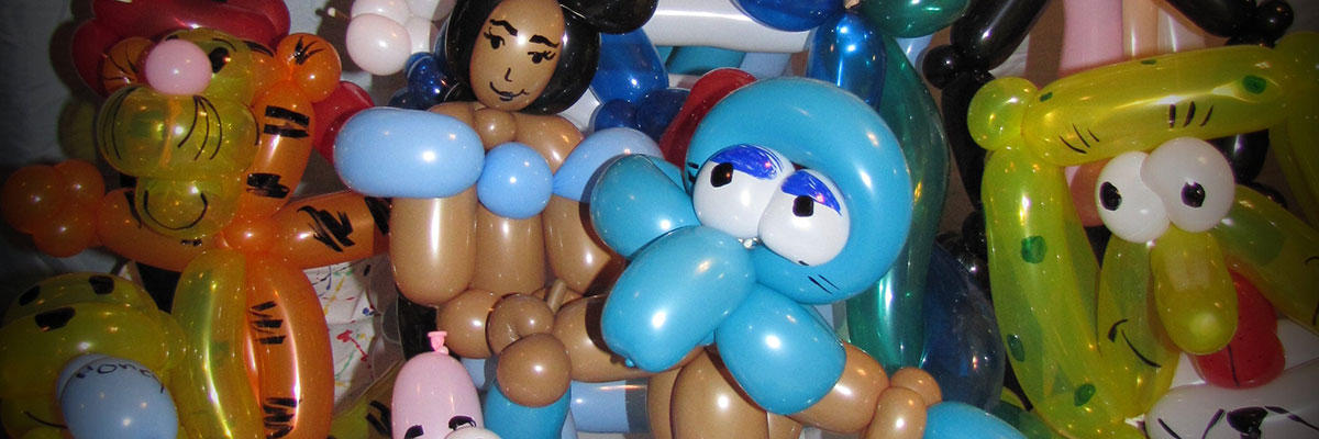 Creative Balloon Art Image